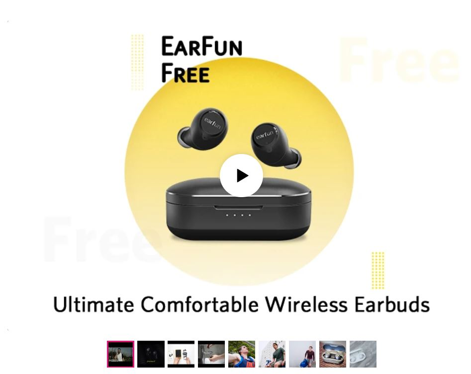 Earfun Free airpod alternatives - Best true wireless earbuds
