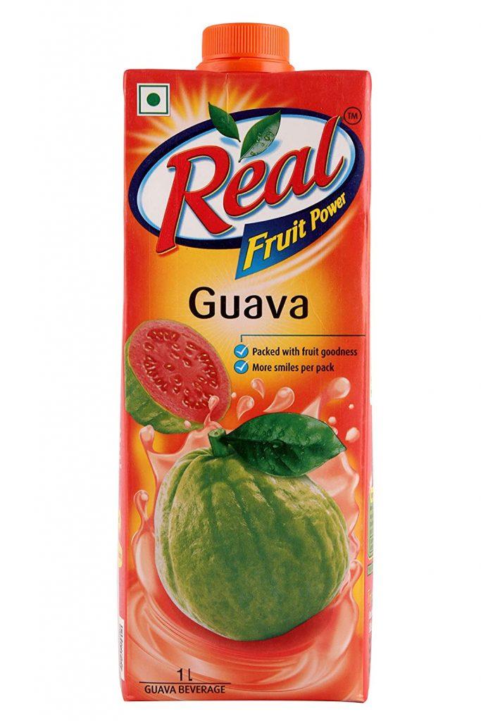 real fruit juice